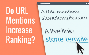 URL mentions increase ranking