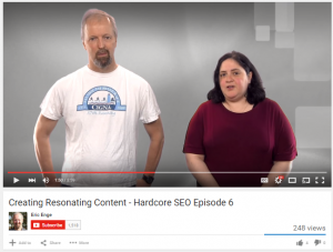 creating resonating content hardcore seo